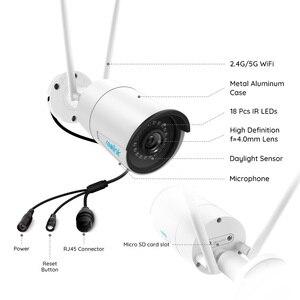 Image 2 - Reolink RLC 410W 4MP 2560x1440 2.4G & 5G מעקב חיצוני WiFi מצלמה HD IP מצלמה אלחוטי עמיד אבטחת מצלמה