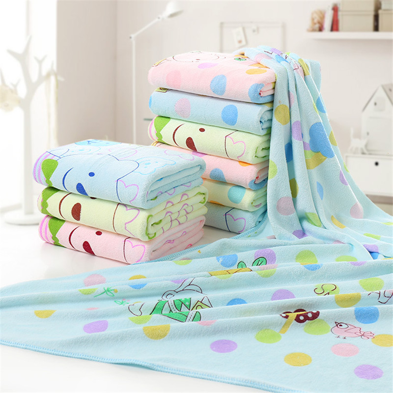 140*70cm Super-sized microfiber strong absorbing water bath pet towel dog towels Golden retriever teddy general on sale