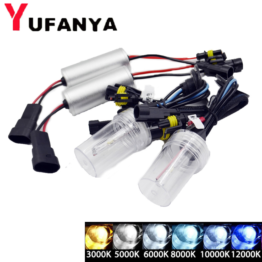 35w mini slim hid xenon kit conversion set xenon ballast h1 h4 h7 h8 h11 hb3 hb4 high low xenon bulb white color 6000k archos 70 xenon color