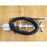 5 unit 8db 806-960 MHz Yagi antenne met 10 m kabel INDOOR antenne N connector voor GSM CDMA repeater booster
