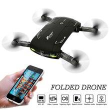 X20 ELFIE Poche Drone Avec Caméra WIFI FPV Pliable Quadcopter sans tête Maintien D'altitude Mini Selfie RC Hélicoptère VS D5 E50 Drone