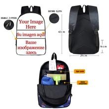 Cool Crazy Evil Clown Backpack For Teenager Women Men Rucksack Children School Bag Backpacks Kids Bookbags with double zipper