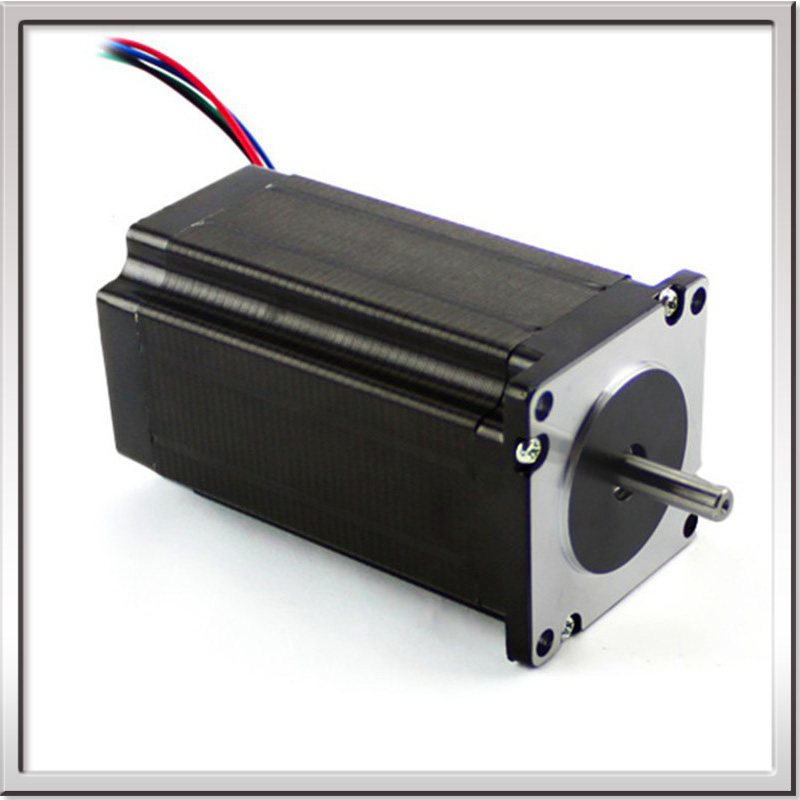 1.8deg. 60mm 2 phase square hybrid big stepper motor NEMA24 high torque 60HS88-2008 60BYGH301B dc stepper motor CE ROHS annoytools nema24 60hs 2 phase 1 8degrees hybrid stepper motor 4 5v 2 8a 30kg cm 88mm 60hs88 2808 diy cnc machine 3d printer