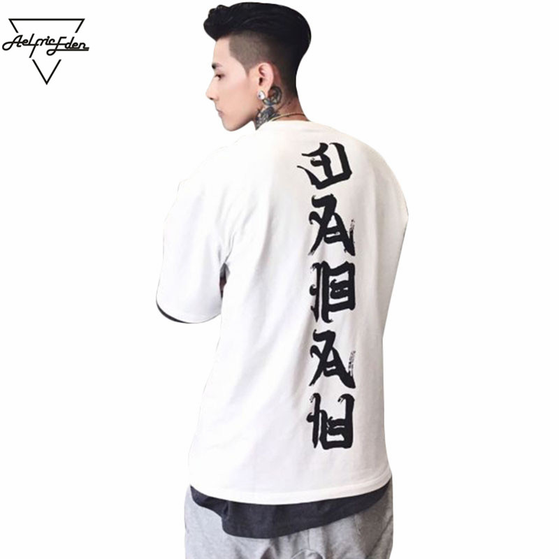 Aelfric Eden 3XL Oversize Magliette Uomini Top Joint Male t-shirt Streetwear Vogue Allentato Coppia Tee Shirt Casual Hip Hop Tshirt