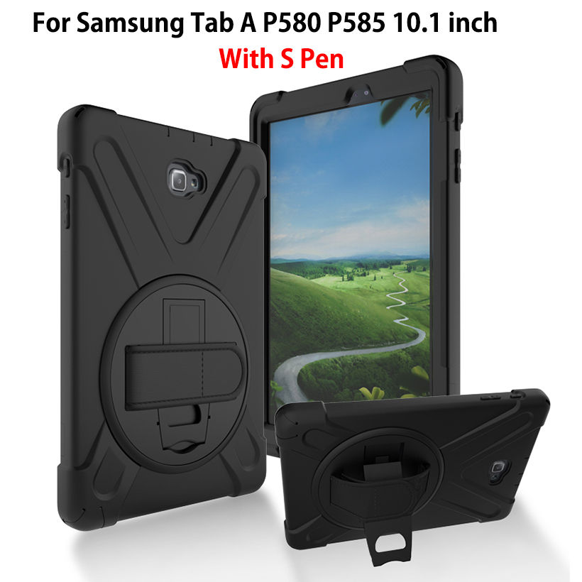 Tablet Case For Samsung Galaxy Tab A A6 10 1 P580 P585