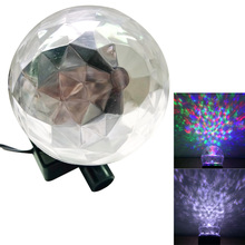 LED Light Stage Show Lamp Ultra-Bright Multi-Color Projection Kaleidoscope Outdoor Party Christmas Holiday Spotlight Decoration