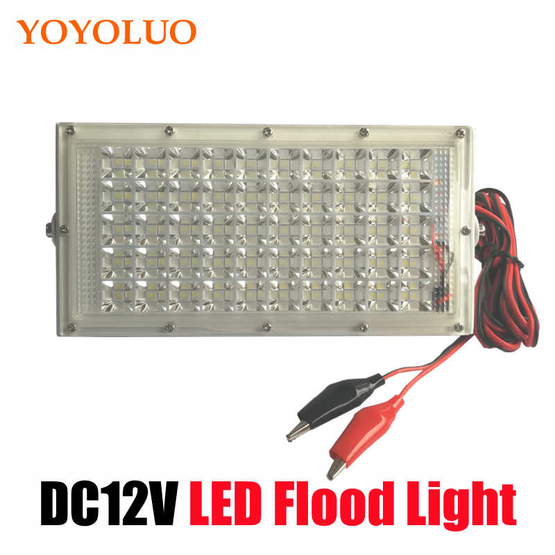 Led Flood Light DC12 Volt Waterproof IP65 40W DC12V LED Spotlight Refletor Outdoor lighting Wall Lamp Garden Floodlight