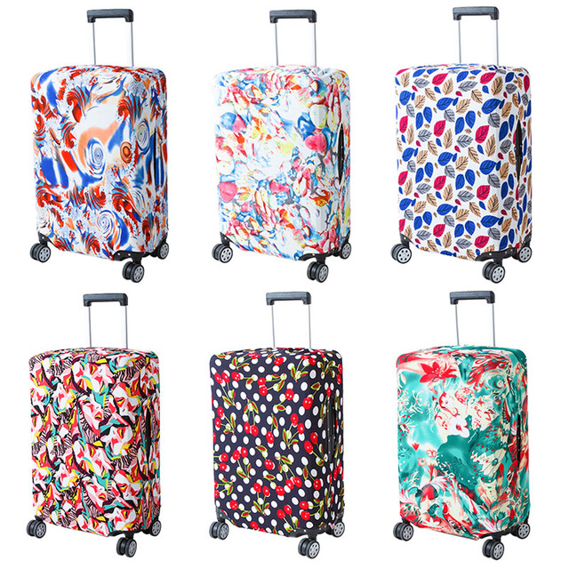 REREKAXI Travel Protective Suitcase Luggage Cover,18-30 Inch Trolley Elastic Case Cover Baggage Dust Covers Travel Accessories