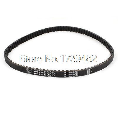 HTD760-8M 13mm Width 8mm Pitch 95T Synchronous Timing Belt for Stepper MotorHTD760-8M 13mm Width 8mm Pitch 95T Synchronous Timing Belt for Stepper Motor