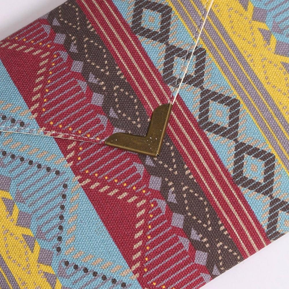 Женская мода Конверт Сцепления Сумки Кошельки Этнические Сумки Женщин Геометрический Узор Чешские Леди Вышивка Мешок Вечера