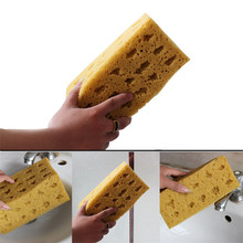 Fashion New Practical Yellow Nonslip Sponge Washing Cleaner Tool For Car Auto