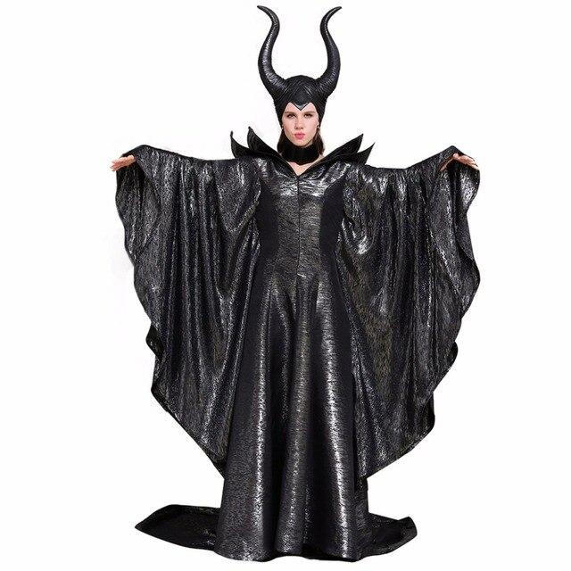 121 53 Cosplaydiy Por Encargo Maleficent Vestido Traje Adulto Maleficent Halloween Carnaval Cosplay Traje L0516 En Disfraces De Cine De La Novedad