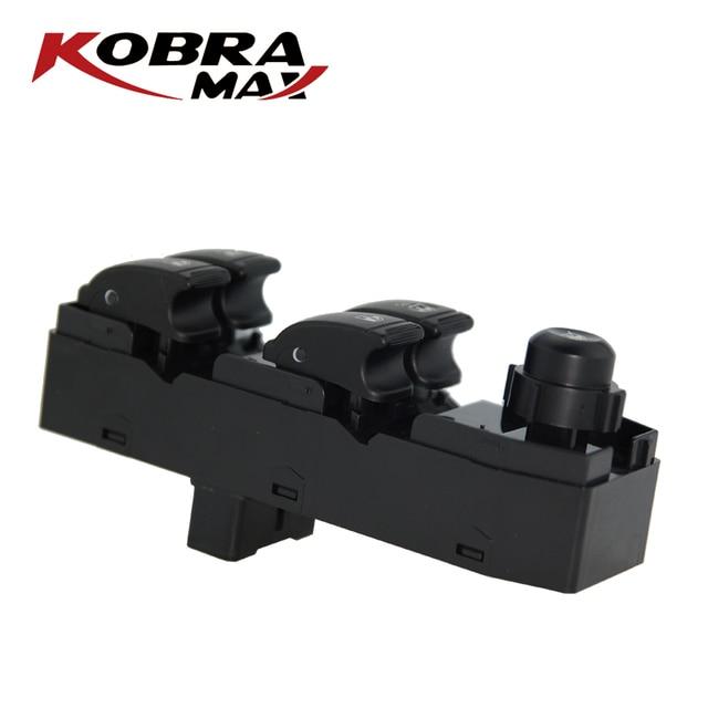 KobraMax Anteriore Finestra di Sinistra Interruttore Sollevatore per Chevrolet Optra Lacetti OEM: 96552814 1pcs
