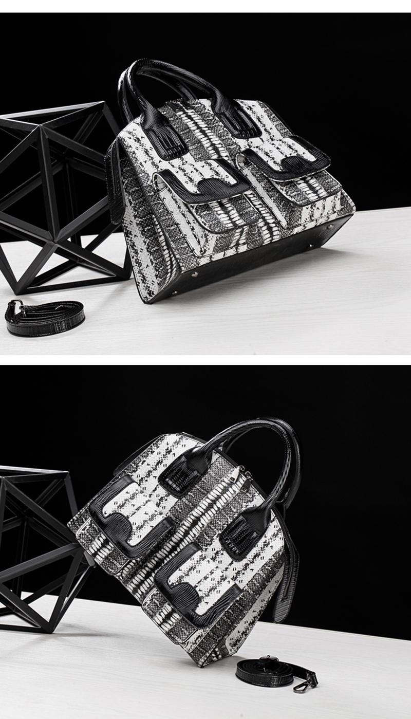 57bccf375382 ARPIMALA Vintage Snake Print Tote Bag Women Big PU Leather Handbags ...