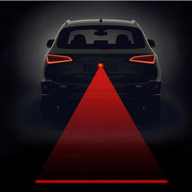 Car Styling Laser Fog Warning Lights Case For Toyota Prius Levin Crown Avensis Previa Fj Cruiser Venza Sienna Alphard Zelas Tund