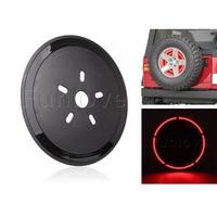 WHDZ Spare Tire Wheel LED Light 3rd Spare Tire Brake Light LED Ring for 97 17 Jeep Wrangler JK TJ LJ YJ CJ