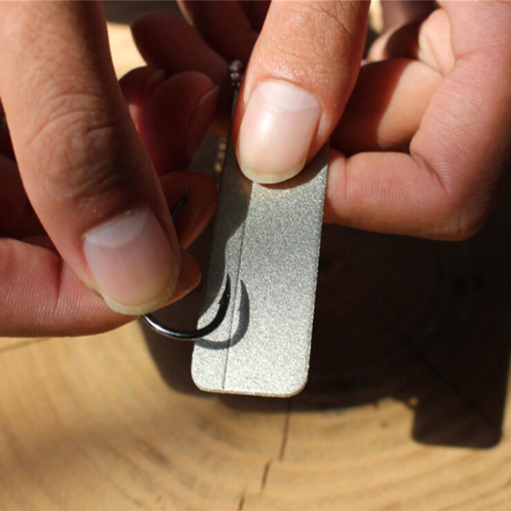 Hot Sale EDC Pocket Diamond Stone Sharpener Keychain for Knife Fish ...