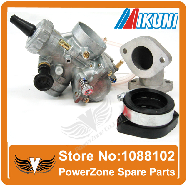 ФОТО MIKUNI VM24 28mm  Performance Racing Carburetor Pack Fit To 140cc150cc160cc Atomik Pit Pro KAYO Dirt Bike Free Shipping