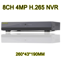 HD 4MP Output 4 8 16 Channel H 265 4MP Network Video Recorder HDMI H 264