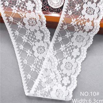 Λευκές Κορδέλες Δαντελένιες DIY Συσκευασία Δώρου Και Πόλλες Διακοσμήσεις DIY Χόμπι MSOW