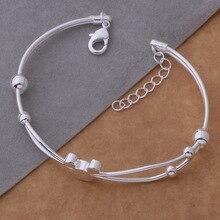 Fashion design 925 sterling silver Bracelet mickey shape silver Bracelet