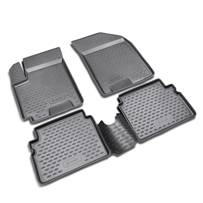 Mats in the salon For CHEVROLET Aveo 2004-2012, 4 PCs (polyurethane) mats in salon сртк chevrolet еpikа 09 rubber ch ep 06 10 g 02043