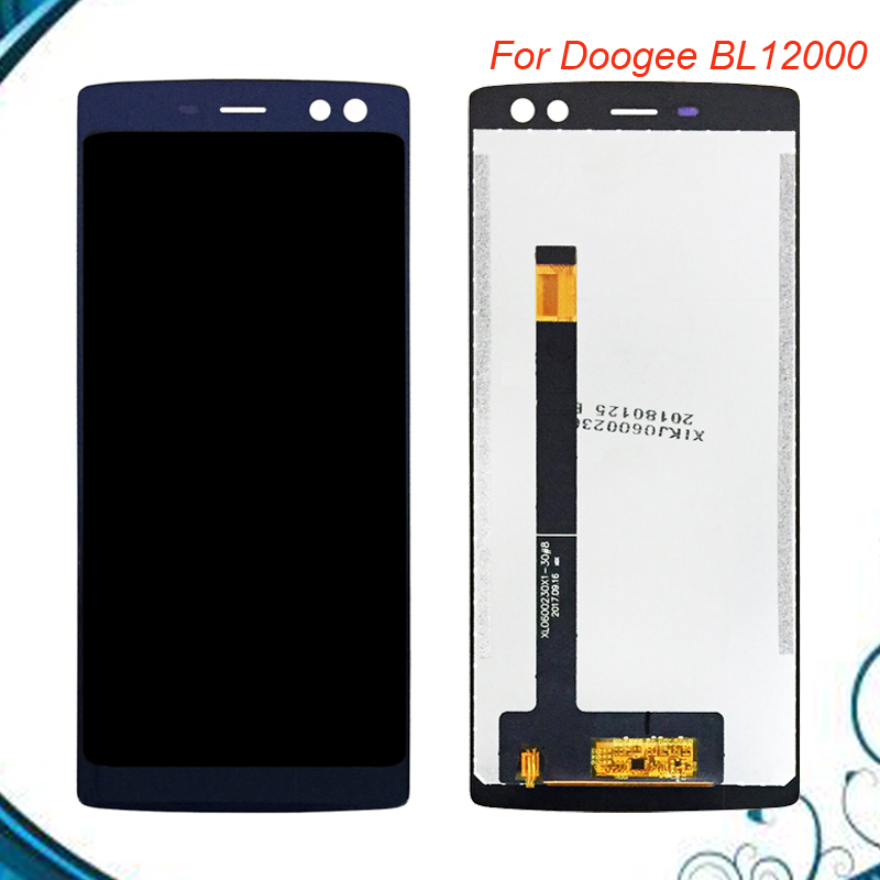 New Arrival For 6.0 Doogee BL12000 BL12000 Pro LCD Display +Touch Screen Assembly Repair Replacement Accessories