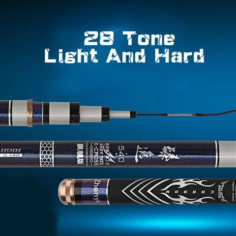 28 tonalty 5 h canne a peche superhard polo taiwan vara de pesca para peixes
