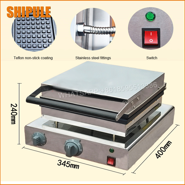 Stainless steel waffle maker electric,Kitchen Appliances/Chinese ...