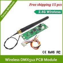 Быстрая Бесплатная Доставка DHL pcb DMX512 R/T Wireless DMX передатчик и приемник