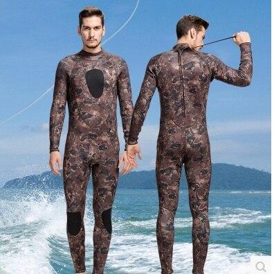 3mm Neoprene Plus Size Diving Wetsuit Keep Warm One Piece Full Body SwimSuit Scuba Spandex Jumpsuit Wet Suits Surfing BeachWear