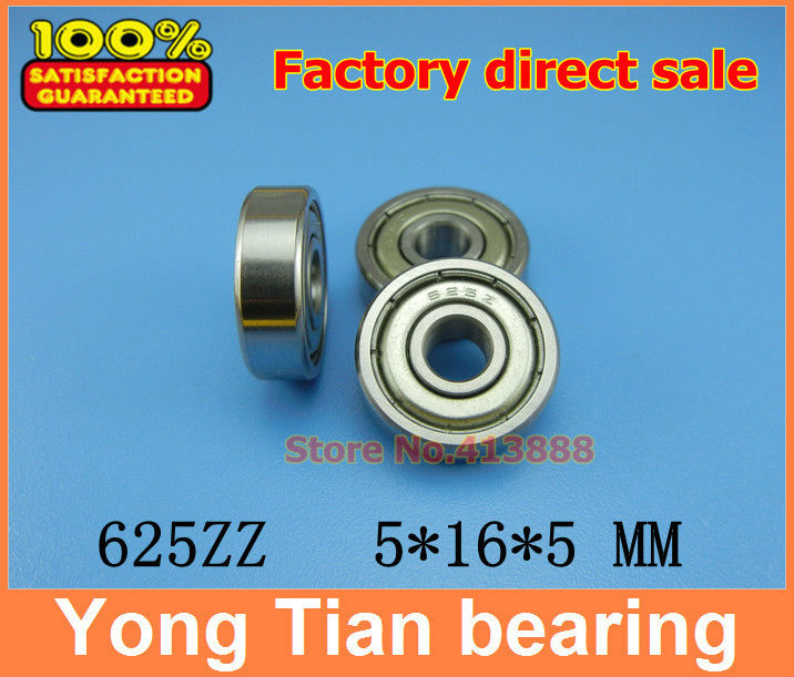 10pcs free shipping Miniature deep groove ball bearing 625ZZ 5*16*5 mm gcr15 6326 zz or 6326 2rs 130x280x58mm high precision deep groove ball bearings abec 1 p0