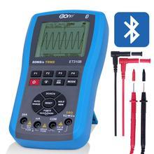 ET310B Bluetooth осциллограф мультиметр Цифровой осциллограф 80 м/20 МГц Портативный осциллограф доступен в ПК
