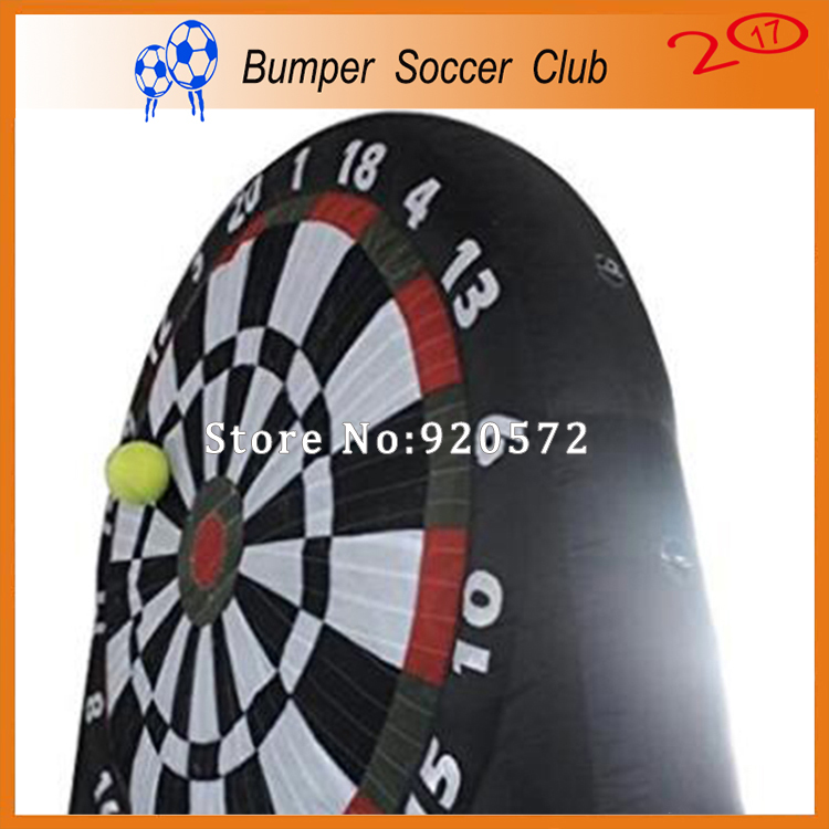 Free shipping ! 3m/4m/5m/6m/7m Guangzhou Inflatable Sport Foot Darts for Sale, Inflatable Dart Board and Ball