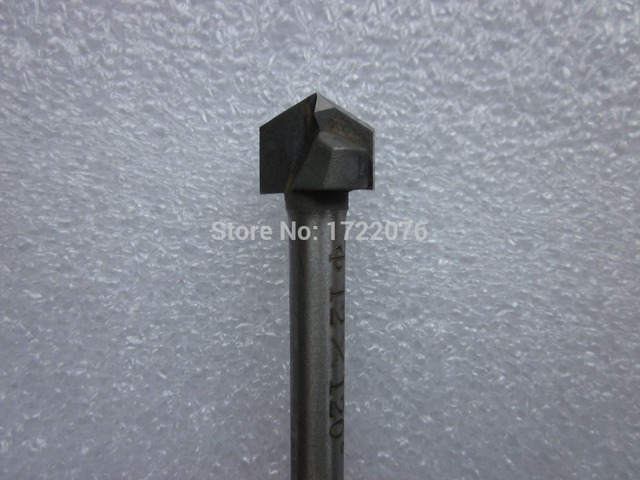6mm*12mm*120degree,Freeshipping,CNC Solid Carbide Milling Cutter ...