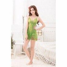 Sexy Erotic Lingerie Dress Transparent Lace Underwear