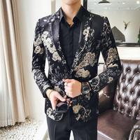 New Arrival Top Suit Jackets For Men Terno Masculino Suit Blazers Jackets Traje Hombre Men's Casual BlazerSize S XXXL 4XL
