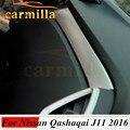 O Envio gratuito de Alta qualidade ABS Tampa do papel de Atualização Glovebox decoração guarnição Para 2014 2015 2016 Nissan Qashqai J11