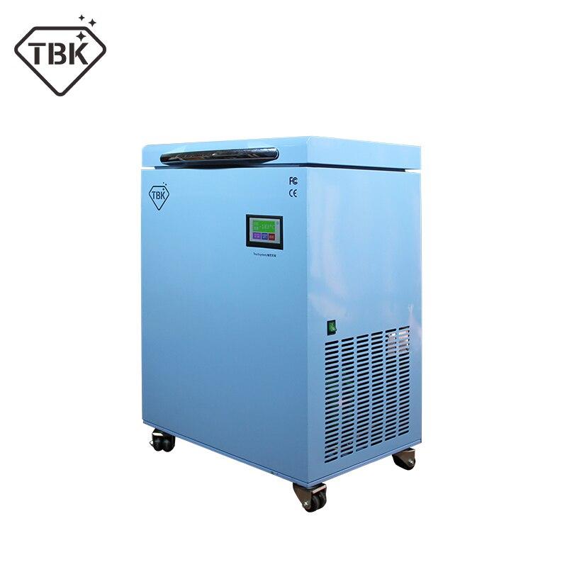-185C ЖК-дисплей замораживания машина ТБК 588 сепаратор заморозки инструменты ЖК-дисплей Сенсорный экран отделяя для smasung S6 S7 S8 край