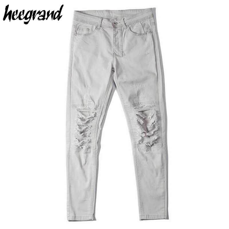 White Damage Jeans | Jeans To
