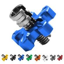Motorcycle Aluminum brakes Clutch Cable Wire Adjuster For Triumph Daytona 955i  T595 955CC Legend TT Rocket 3 2300cc