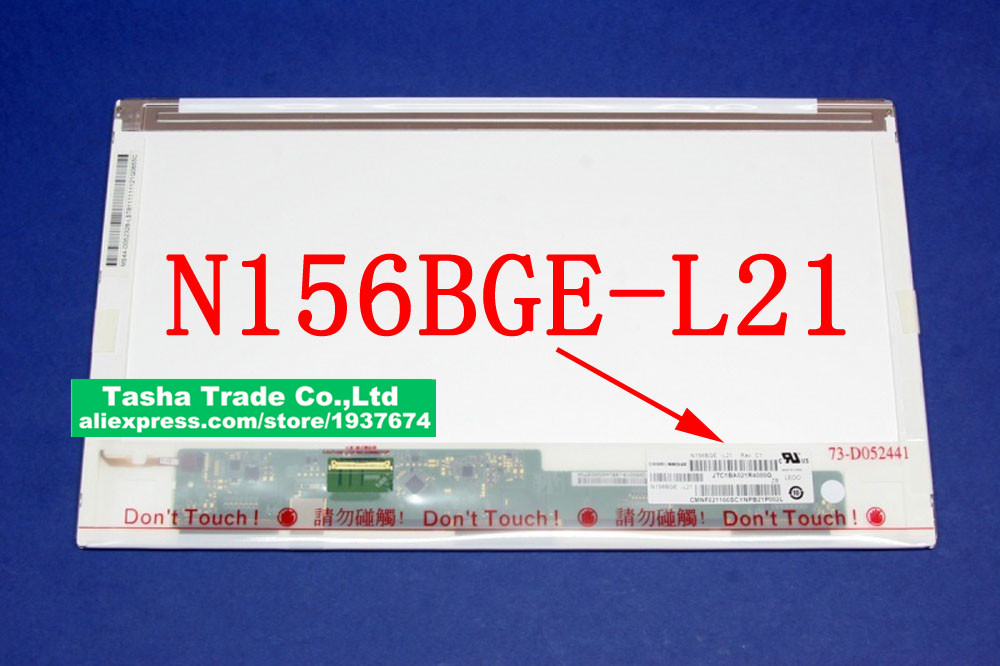N156BGE-L21 N156BGE L21 Matrix LCD Screen LED Display Matrix Bottom Left GLOSSY 15.6