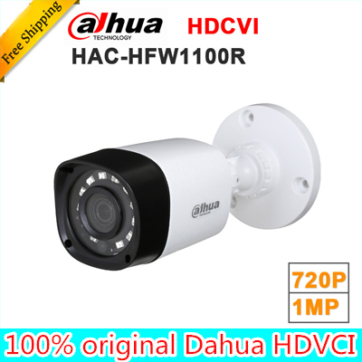Wholesale dahua HAC-HFW1100R 1MP HDCVI IR Bullet Camera Smart IP67 720P HD CCTV Lite Series DH-HAC-HFW1100R wholesale r