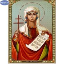 16a3bfd614a 5D Diy diamante pintura religión icono de San Cristóbal diamante mosaico  artesanía diamantes bordado punto de cruz virgen