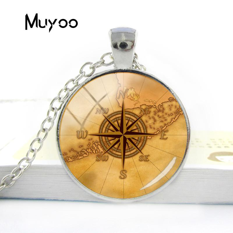 HTB1VfvYV6DpK1RjSZFrq6y78VXa8 - Vintage Old Compass Rose Steampunk Style Glass Cabochon Pendant Necklaces Glass Color Compass Jewelry Nacklace Gifts