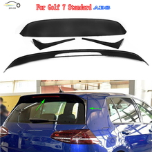 Golf 7 MK7 ABS Rear Wing for VW Golf 7 VII MK7 Standard 2014 2015 2016 Car Styling R style Auto Racing Car Trunk Roof Spoiler