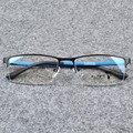 Господа Мода Очки Мужской Синий Половина Оправе Оптические Очки Кадр