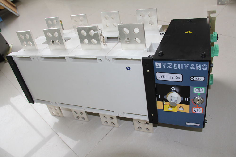 Fast Shipping 1250A SYK1-1250A 4P Suyang ATS Work 440V Power 220V Dual power automatic transfer switch Automatic starting systemFast Shipping 1250A SYK1-1250A 4P Suyang ATS Work 440V Power 220V Dual power automatic transfer switch Automatic starting system