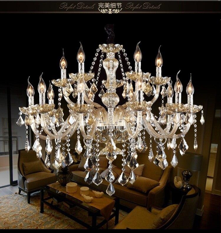 Free Shipping Crystal Modern Light Chandelier Crystal Living Room Lustres De Cristal Pendants