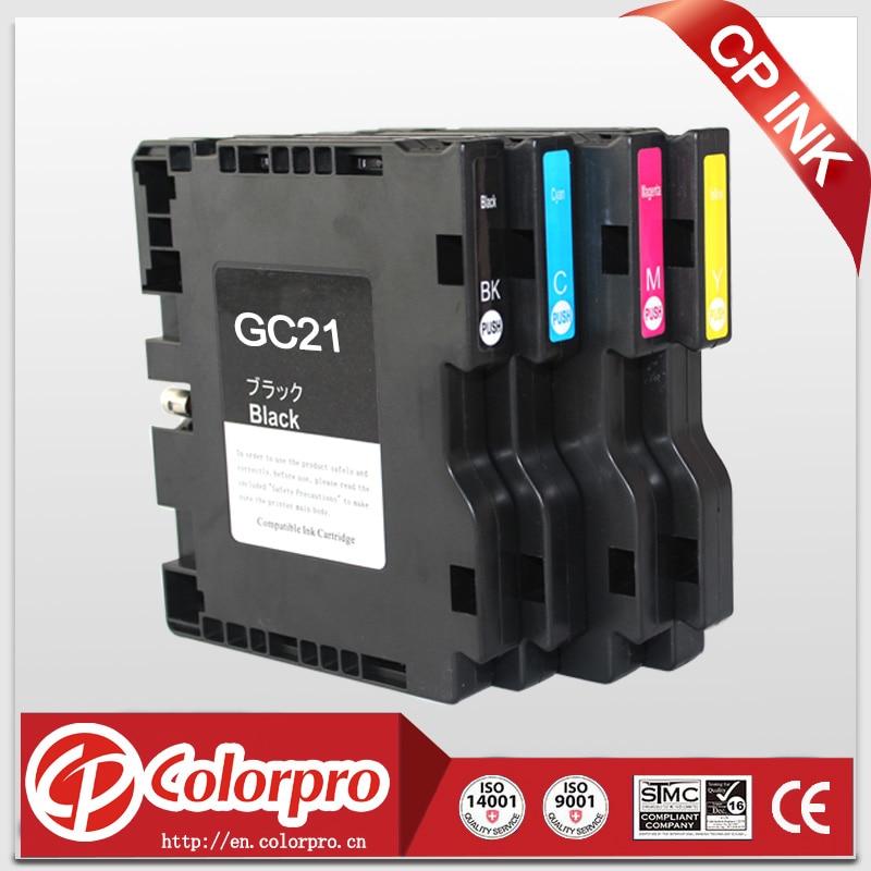 4PK Para Ricoh GC21 Cartucho de tinta de sublimación compatible para - Electrónica de oficina
